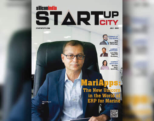 MariApps becomes the cover story of Silicon India Magazine