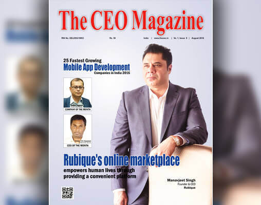 MariApps portrayed as company of the month in 'The CEO Magazine'