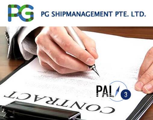 PG Shipmanagement Pte Ltd Signs contract to implement PAL e3