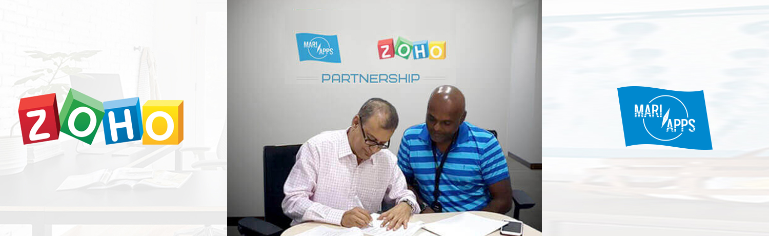 Zoho and MariApps enter into a strategic partnership to bring Human Capital Management to Maritime sector.