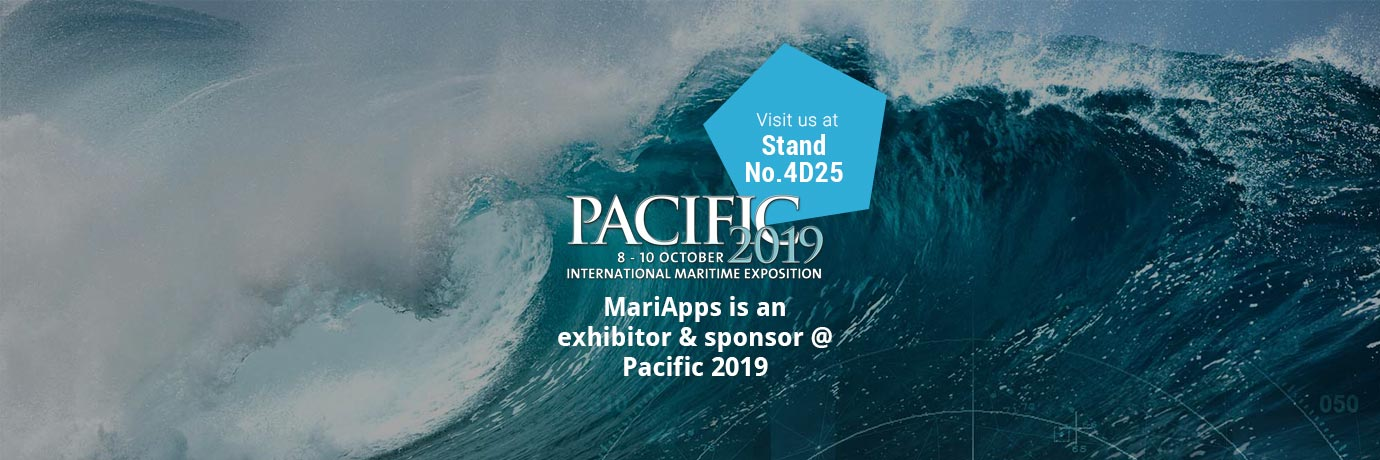 MariApps sponsors Pacific2019- the largest maritime business event in Australia.